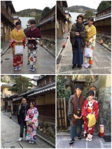 2月14日 京都 着物レンタル 夢京都 高台寺店