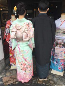 3月31日 京都 着物レンタル 夢京都 高台寺店