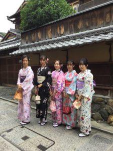 6月29日京都 着物レンタル 夢京都 高台寺店