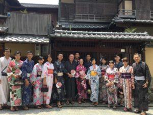 7月13日 京都着物レンタル 夢京都高台寺店