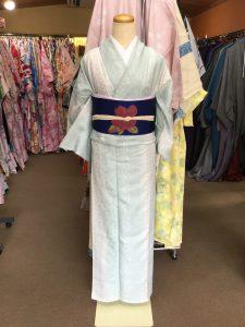 5月 9日 京都 着物レンタル 夢京都高台寺 単衣の着物出しました