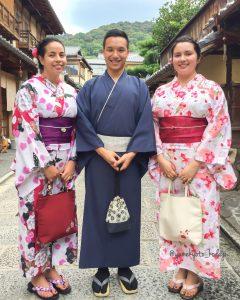 8月 27日 京都 着物レンタル 夢京都高台寺