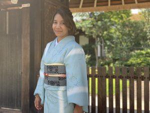 9月 16日 京都 着物レンタル 夢京都高台寺
