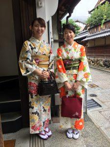 9月 21日 京都 着物レンタル 夢京都高台寺