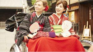 9月 3日 京都 着物レンタル 夢京都高台寺