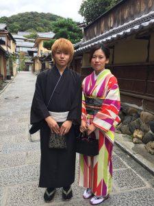 10月  13日 京都 着物レンタル 夢京都高台寺
