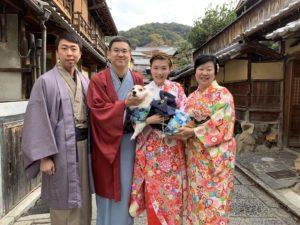 11月   30日 京都 着物レンタル 夢京都高台寺