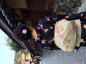 11月   28日 京都 着物レンタル 夢京都高台寺