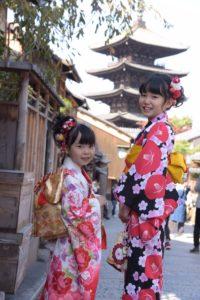 11月   23日 京都 着物レンタル 夢京都高台寺