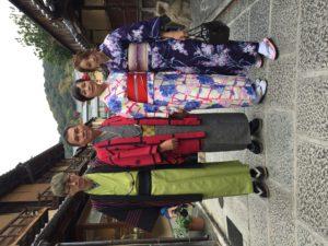 11月   27日 京都 着物レンタル 夢京都高台寺