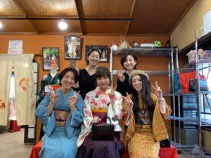 1月  15日 京都 着物レンタル 夢京都高台寺
