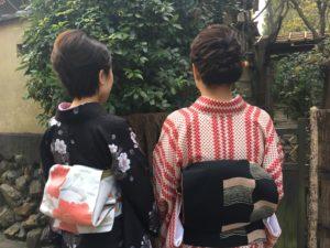 1月  16日 京都 着物レンタル 夢京都高台寺