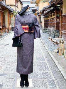 1月  14日 京都 着物レンタル 夢京都高台寺