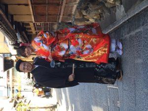 2月 17日 京都 着物レンタル 夢京都高台寺