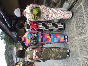2月 23日 京都 着物レンタル 夢京都高台寺