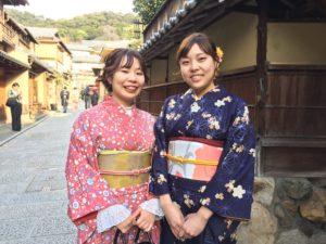 2月 20日 京都 着物レンタル 夢京都高台寺